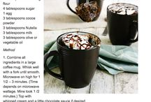 microwave  mug cake recipes