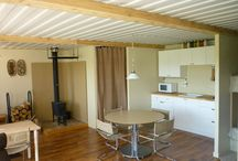 Shipping Container Cabin! / by Hannah Dudley