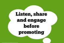 Social Media Thinking..... / Social media tips and advice from Lisa from Klarity Marketing. Social media training available.