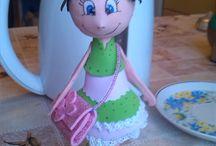 куклы фоамиран