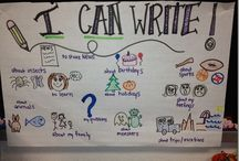 Kinder Writing! / A place to see creative kindergarten writing ideas!