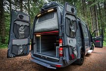 Outdoor camp cars