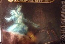Pathfinder library / Pathfinder RPG books I own