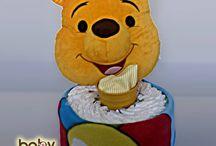 Plienkové torty - Darčeky pre dievčatká aj chlapcov