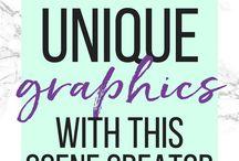blog graphic stock photos