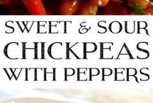 sweet & sour chicpeas