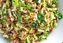 Recipes - Salads, Dressings, Pesto, Hummus / by Marcia C.