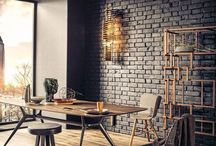 Project Enerhaugen-Grønland / Rustic, industrial interior with a touch of design and warm cobber.