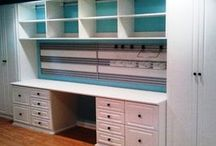 Sewing Room Ideas / My personal space ...the sky's the limit