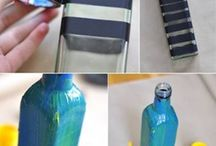 DIY Botellas de cristal