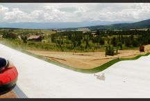 Colorado Staycations - YMCA's Snow Mountain Ranch / New summer tubing hill near Granby, Colo., is the first of its kind in the state.