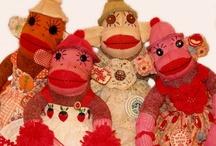 NOT your typical Sock Monkey / Sock Monkeys
