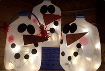 Winter decor / by Ali Wheat