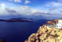 (my) Santorini / Santorini island, Greece