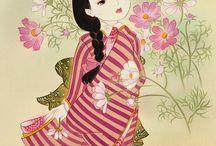 일본 인물화