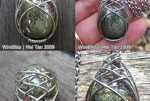 wired wrap jewellery