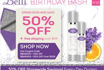 Belli Birthday Bash 2015 / CELEBRATE our Birthday Bash 2015 with daily discounts.