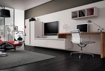Office + tv stand