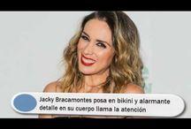 Jacky Bracamontes posa en bikini y alarmante detalle en su cuerpo llama la atención