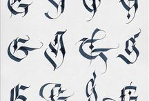 calligraphy reference