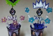 Erin's Disney descendants 1&2 Birthday Party ideas