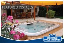Featured Hot Tub and Pool Installs / Portfolio of installations for happy clients.