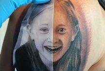 Portrait / Portrait Tattoos Tattoo artist: ahmet güngör