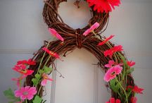 All Occasion Wreaths/Door Hangings / by anita phillips