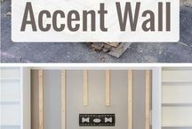 Home accent walls