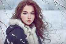 Ludzie Lodu / saga o ludziach lodu, margarit sandemo, kobiety , średniowiecze,