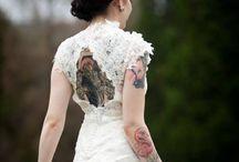Rebel Tattoed brides