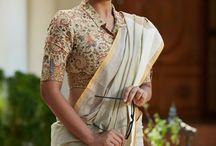 Saree blouses