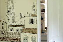 papeles murales