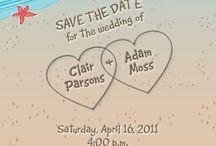 Beach Wedding Invitations / by InvitesWeddings