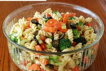 Salads: pasta