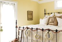 Rooms filled with Sunshine~ yellow inspirations / by Courtney French Country Cottage