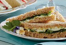 Sandwich and food decoration