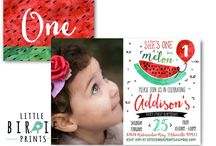 Watermelon Birthday Ideas