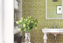 Wallpaper / Wallpaper your homer stager WON'T ask you to remove when you sell your home. Yes, it does exist. / by AtWell Staged Home