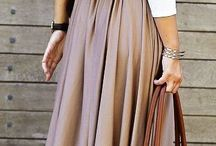 ♥Love&long skirt♥ / A long skirt can highlight your personalized charm. Dress up yourself and enjoy it!