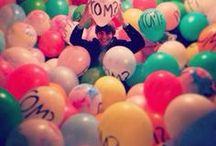"""Promposals Balloon Ideas / Promposal ideas using Balloons March 11th Is the day for high school students to craft their unique invitation to the event of the year. It has been officially name with the idea of getting the ultimate question asked. """"Will you go to prom with me?"""" Prom takes a lot of planning...  finding the right tux, the right dress, shoes and accessories.  Do you borrow dad's car or rent a limo? Those are just a few of the details. But first, ask the question on March 11th, National Promposal Day."""