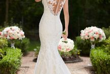 Wedding dress- lace back