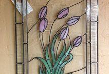 glass painting ideas pattern