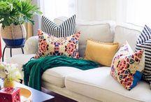 Spring + Summer Home Inspiration / Tips + tricks for spring and summer living.