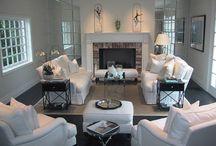 Long Living Room Design