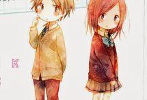 Aηimεs & ⅿαηgás / Aqui tem vários fotos de animes,e desenhos estilo mangá, compartilhem a vontade (•u•)