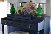 szines pianino