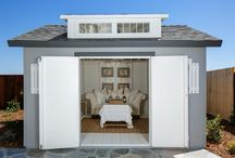 She Shed / You've heard of the #mancave? Our Northern California team has introduced the #SheShed!