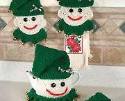 Christmas  and Winter Crochet Patterns / Crochet Christmas patterns and winter gifts. Mittens to crochet, holiday items to crochet, Christmas gifts to crochet, crochet patterns for the holidays and cold weather. Christmas crochet patterns