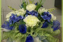 cemetery flower arrangements